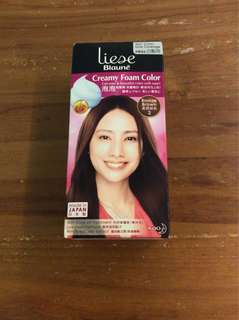 Liese creamy foam bronze brown Hair Dye colour