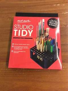 BN mont marte creative tools organizer studio tidy