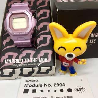 Casio Baby-G x Married to the Mob Limited Edition Collaboration Watch