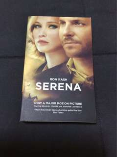 Bn Serena book by Ron Rash Jennifer Lawrence