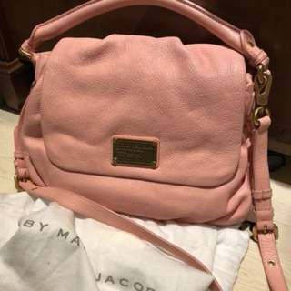 Marc by Marc Jacobs 粉紅側背包