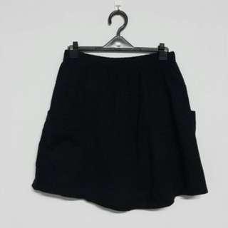🚚 棉質彈性褲裙✨二手