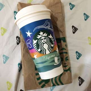 BRAND NEW STARBUCKS REUSABLE CUP ✨