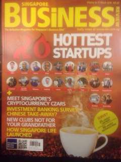 Singapore Business Review (The Definitive Magazine for Singapore's Business Elite) March 2018 Issue