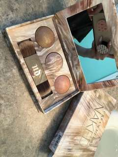 Authentic Urban Decay Naked illuminates trio
