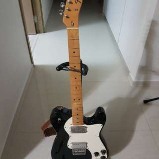 Fender Thinline Telecaster Deluxe Electric Guitar