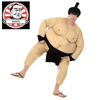 日本相撲手 大肥佬連身衣 扮鬼扮馬 生日主題派對 角色扮演 玩新郎 化粧舞會 公司聯歡