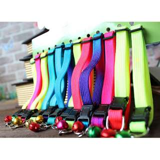 (PRE-ORDER) 12 PCS PER PACK, VIBRANT CAT COLLAR FOR YOUR CATS