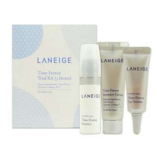 Laneige freeze trial kit 3 items