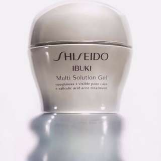 Shiseido multi solution gel