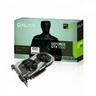 GTX 1060 3GB GALAX OC Edition