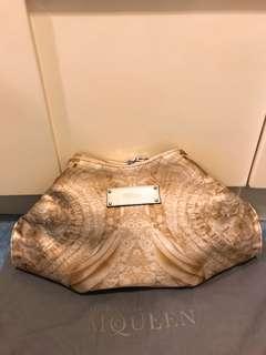 Alexander McQueen Silk Clutch