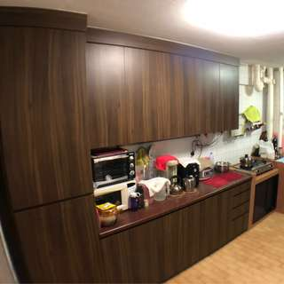Near Bukit Batok Mrt and Unblock View 3 NG Nice Kitchen cabinet
