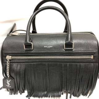 Saint Laurent - Black Boston Bag