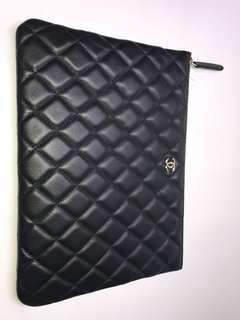 Chanel Clutch 中號黑色 全新購自巴黎保證真品