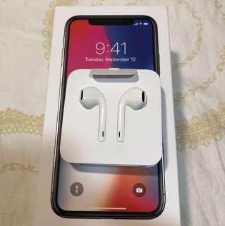 iPhone X 跟機Earpods