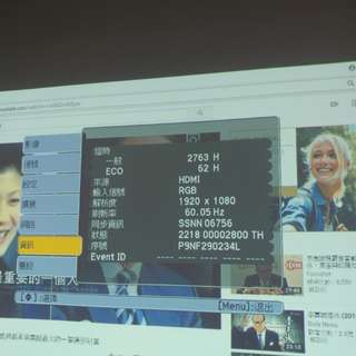 Epson EB-95 3 LCD Projector 投影機