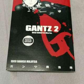 Gantz Vol.2 Terbitan 77 Manga BM