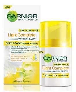 Garnier Skin Natural Light Complete City Ready Serum Cream SPF36/PA+++.