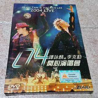 Alan Tan & Hacken Lee 2004 Live Karaoke DVD