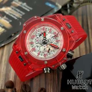 Jam Tangan Pria Hublot Chronograph