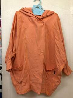 Mercibeaucoup orange outer , 98% new