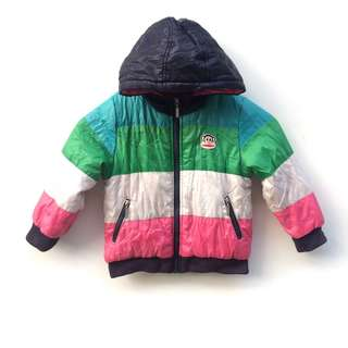 Paul Frank Multicolour Duffer Jacket 1-2years