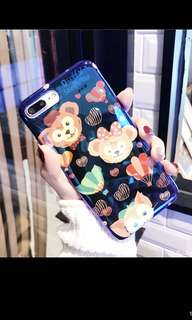 I PHone 7plus熱氣球熊仔軟電話殻(全新)