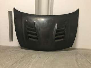 Js racing carbon bonnet - FD AND FD2R