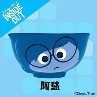全新 7 11 Pixar 陶瓷碗 呀愁