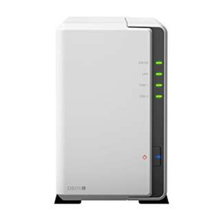 Synology DS215j 2-Bay NAS Bundle 1 x Brand New WD Red 2TB HDD