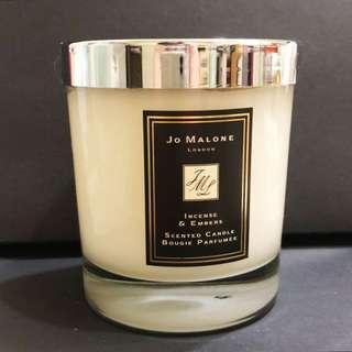 二手✌🏻Jo Malone 蠟燭 Incense & Embers 焚香與火屑(限量版)