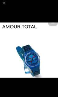 Swatch watch amour total
