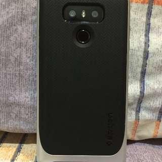 LG G6 Case Spigen Neo Hybrid Silver