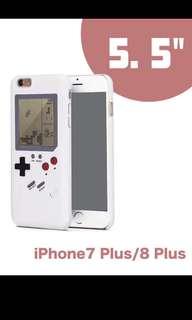 懷舊GB遊戲手機殻 iPhone 7/8 Plus 白色