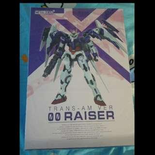 METAL GEAR Gundam 00 Raiser Trans-am Ver (2手開封品)