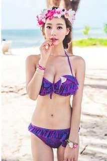 全新紫色Bikini (全新沒穿過,但洗過一次)