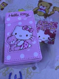 Hello Kitty card/cigarette holder