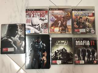 Preowned PS3 Games at $5 each
