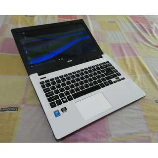 Acer TraveMate slim Core i5 5thGen HardCore Laptop