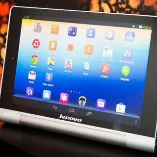 Lenovo Yoga Tablet 8. 16GB Memory Storage. WiFi + SIM slot.