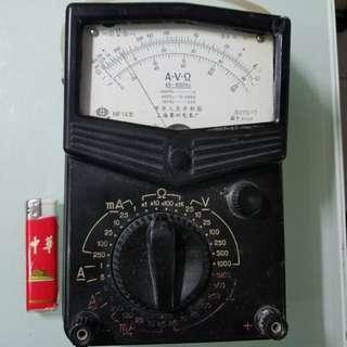 殘舊爛  中國制(大)電錶,吾知用咩電,無法測試,不知好壞,不議價