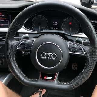 Audi Flatbottom Steering Wheel