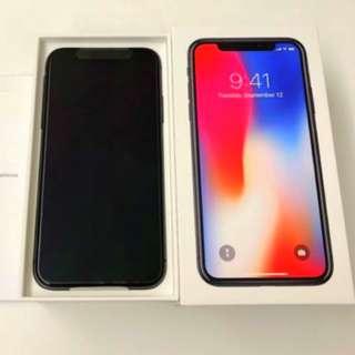 iPhone X 256GB 太空灰 95%新 (CSL有單有玻璃全保)2018年1月開始