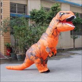 (Preorder) T-rex dinosaur costume