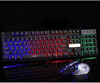 gaming keyboard with mouse/computer keyboard