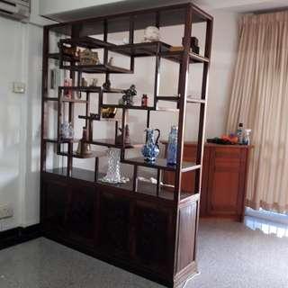 Antique Display  Shelf Divider