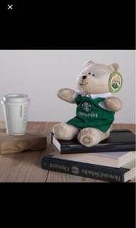 Starbucks classic Singapore bearista bear