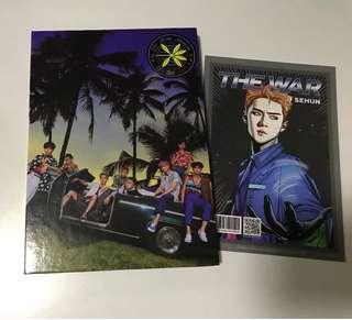 Exo四輯 小卡可自選其他成員