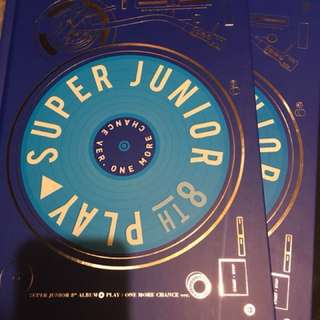 Super Junior 八輯淨專 專輯 Play one more chance ver.